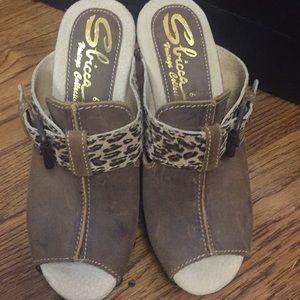 Sbicca wedge heels